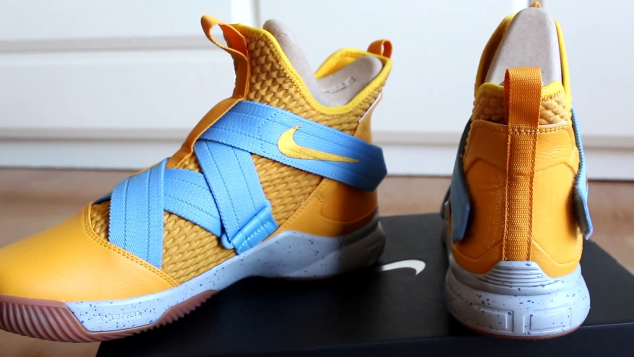 new arrival ba28b 68691 REVIEW NIKE ID LEBRON SOLDIER XII 12 ON FEET UNBOXING