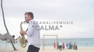 """CALMA"" sax cover at Kukua Beach Club Wedding"