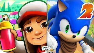 Subway Surfers [CARMEN, BALI 2019] Vs Sonic Dash 2: Sonic Boom