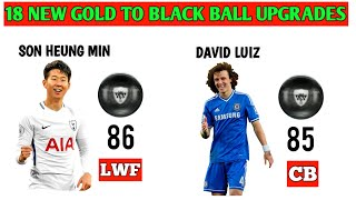 PES 2020 _ 18 NEW Gold To Black Ball Upgrades_ Part 1