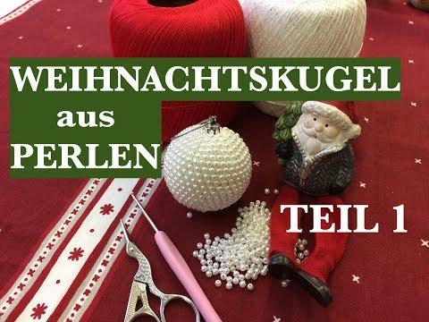 WEIHNACHTSKUGEL AUS PERLEN FÜR ANFÄNGER /DIY /Schritt für Schritt. Anna's Perlen
