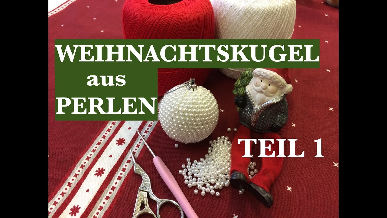 Weihnachtskugel Aus Perlen Für Anfänger Diy Schritt Für Schritt