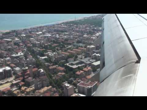 Landing At Pescara Airport Italy