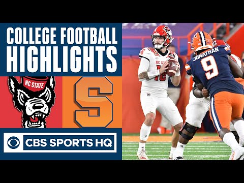 NC State vs Syracuse Highlights: North Carolina State rallies to defeat Cuse  CBS Sports HQ