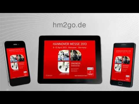 The HANNOVER MESSE App - Your mobile guide