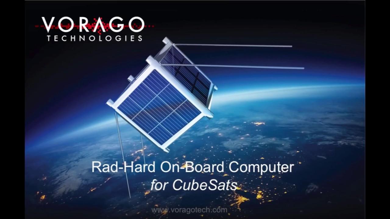 VORAGO Rad-hard Pumpkin CubeSat Kit Bus OBC