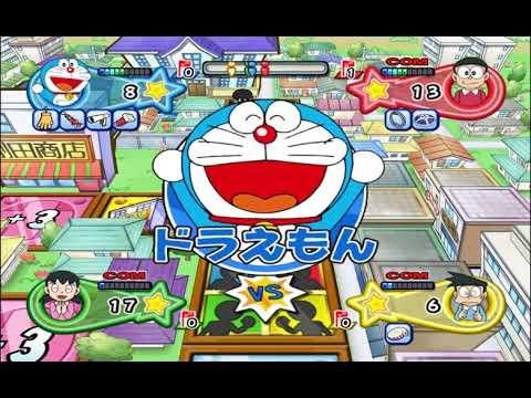 ドラえもん🆕Doraemon Wii Game #1🎨Nobita, Shizuka, Doreamon ...