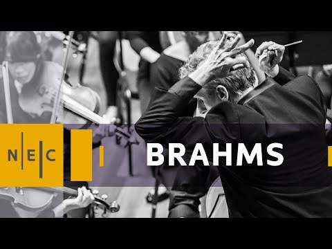 New England Conservatory Philharmonia: Brahms Symphony No.1 with Hugh Wolff