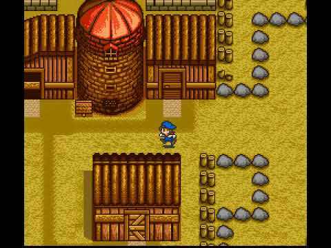 How to play harvest moon snes