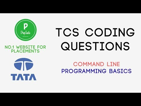 Updated) TCS Coding Questions & Programming Round (Repeated)   2019