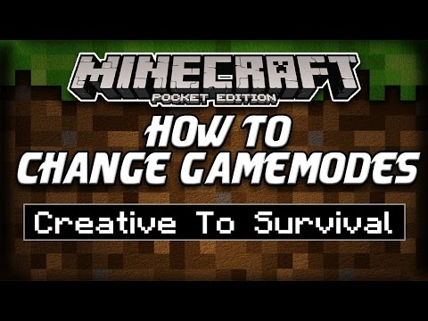 How To Change Gamemodes In Minecraft Pocket Edition Up