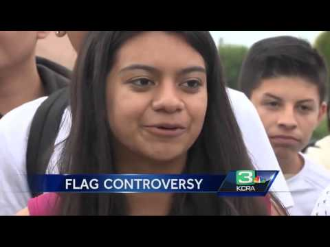 'Build a wall' chants spark high school controversy