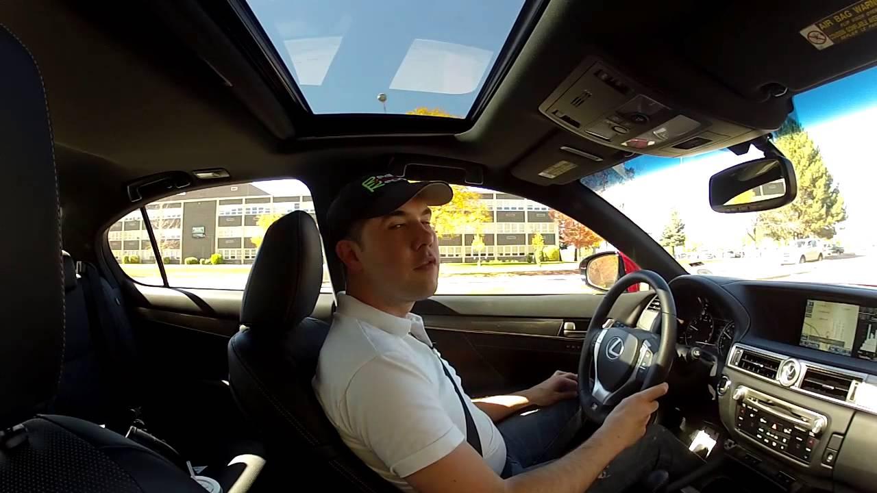 Real Videos 2013 Lexus GS 350 FSport Sport Sedan Review  YouTube