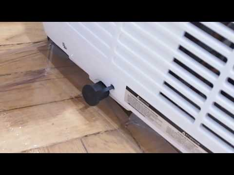 The Easiest  and safest way to drain a portable Air Conditioner without a hose