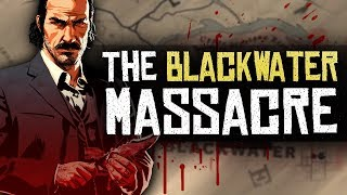 Piecing Together The Blackwater Massacre - Red Dead Redemption 2