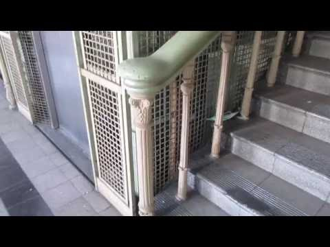 1930 Stigler (mb. Toshiba) Elevator at Hospital Palau Pinang Post Natal Ward in Penang, Malaysia