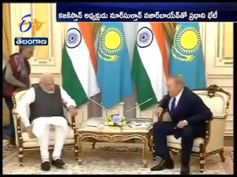 SCO Summit 2017   Narendra Modi meets Kazakhstan president, discusses ways to expand ties