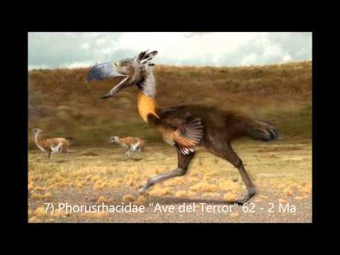 Los 10 animales prehistóricos más impresionantes