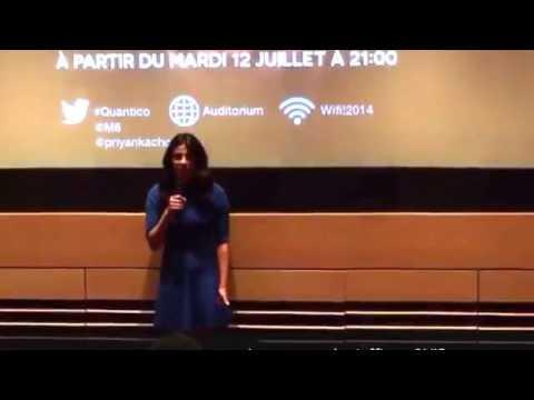 [EXCLUS VIDEO] Quantico, le live Periscope de Priyanka Chopra