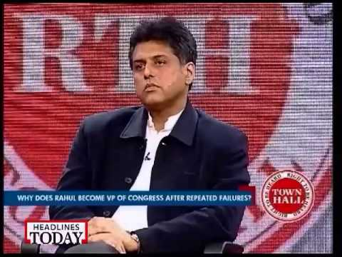 Right to speak must include right to offend: Manish Tewari at RTH