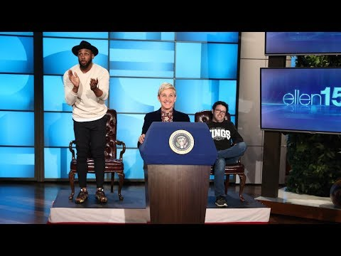 Ellen Gives Her Own State of the Union