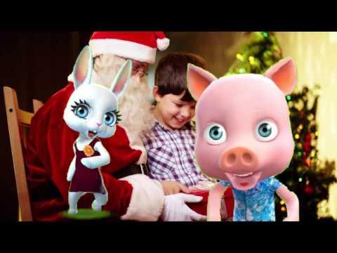 Zoobe Зайка Здравствуй, Дедушка Мороз! - Как поздравить с Днем Рождения