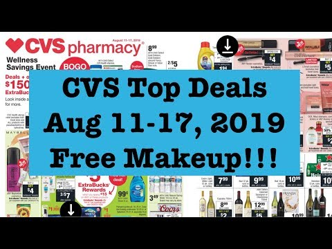 CVS Extreme Couponing|Aug 11-17th! Moneymaker Makeup, Cheap Cookies & More!