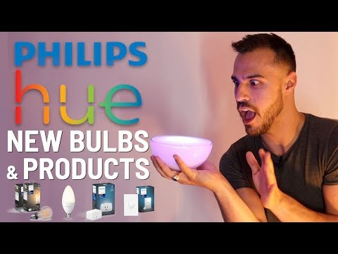 First Look: Philips Hue New Bulbs and Smart Home Products with Bluetooth