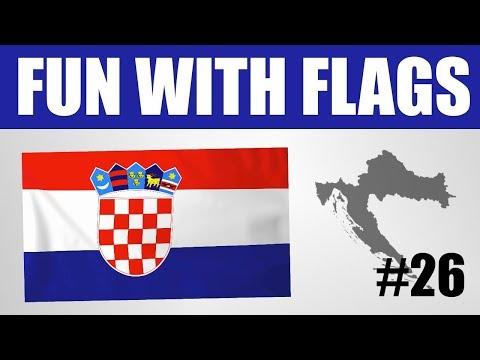 Fun With Flags #26 - Croatia