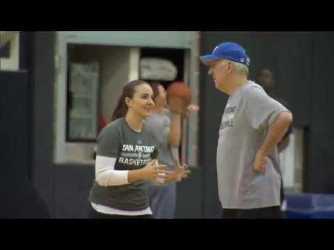 San Antonio Spurs verpflichten weibliche Co-Trainerin | Becky Hammon assistiert Gregg Popovich | NBA