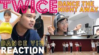"""TWICE """"Dance The Night Away"""" Dance  (NEW JYP Practice Room Ver.) FANBOY REACTION!!!"""