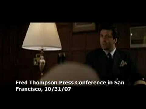 Fred Thompson On Meetings & Plans