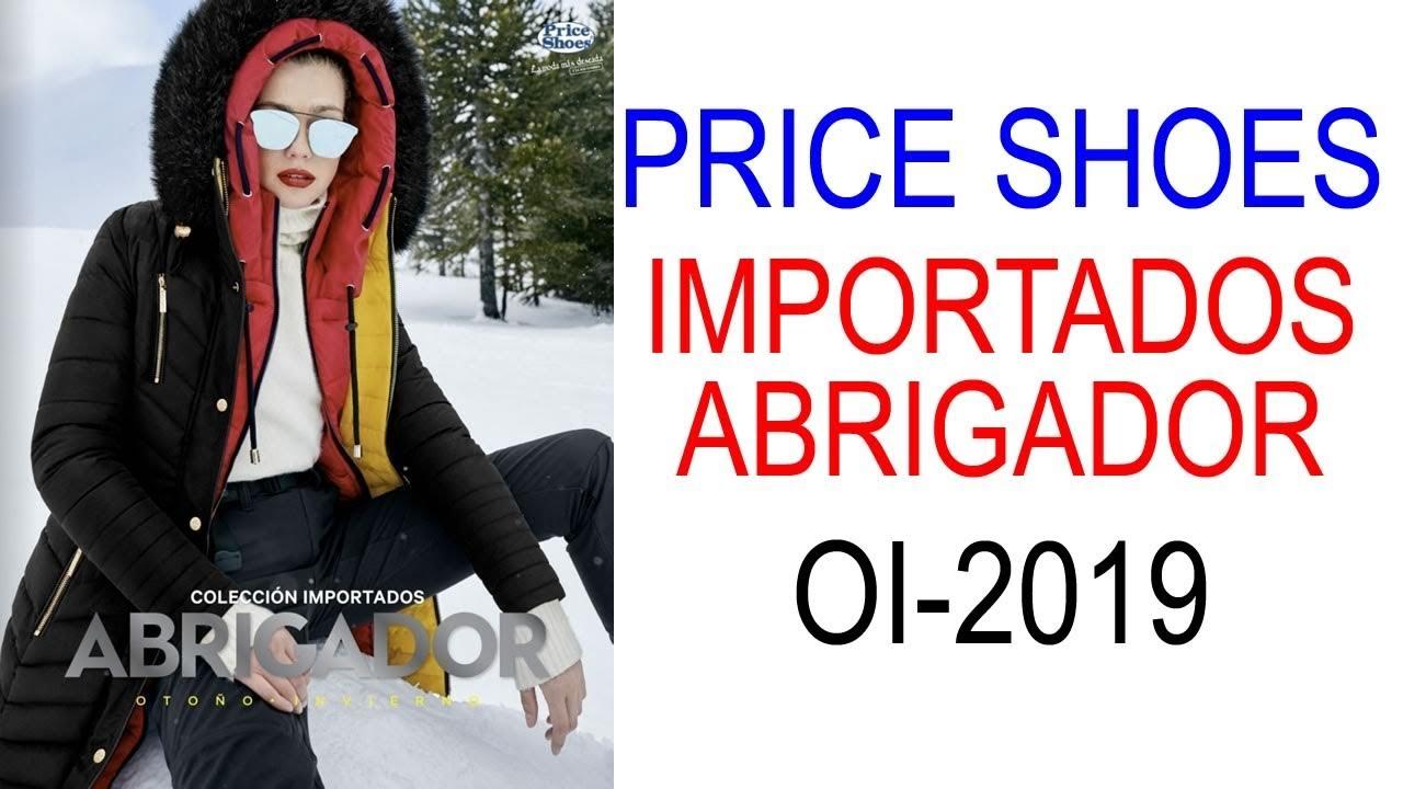Catálogo Price Shoes Importados Abrigador Oi 2019