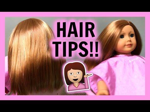 DOLL HAIR TIPS! | American Girl Doll Hair Tips & Techniques