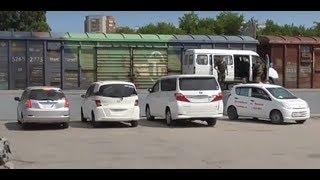 Аукционы Японии выгрузка 6 авто Новосибирск Южный