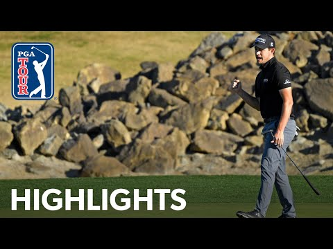 Patrick Cantlay shoots 11-under 61 | Round 4 | The American Express | 2021