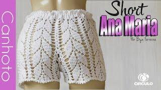 [Versão canhoto] Short em crochê Ana Maria (P) | BYA FERREIRA