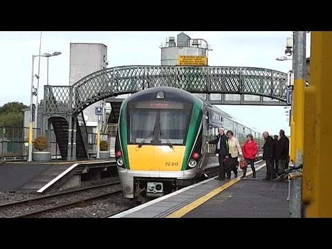 IE 22000 Class ICR Train number 22319 - Tullamore Station, Offaly