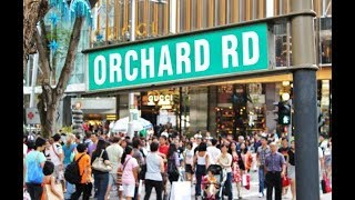 Quick Tour of Orchard Road | Singapore Posh Area | Shopping Malls