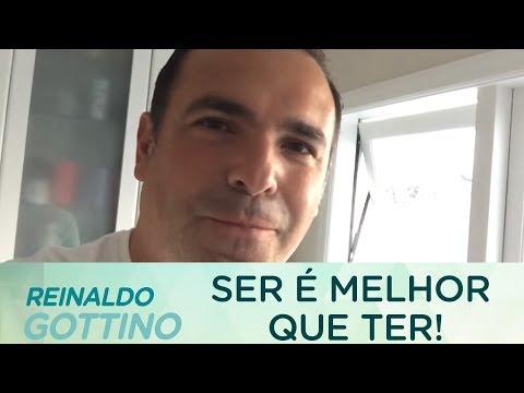 SER É MELHOR DO QUE TER   REINALDO GOTTINO