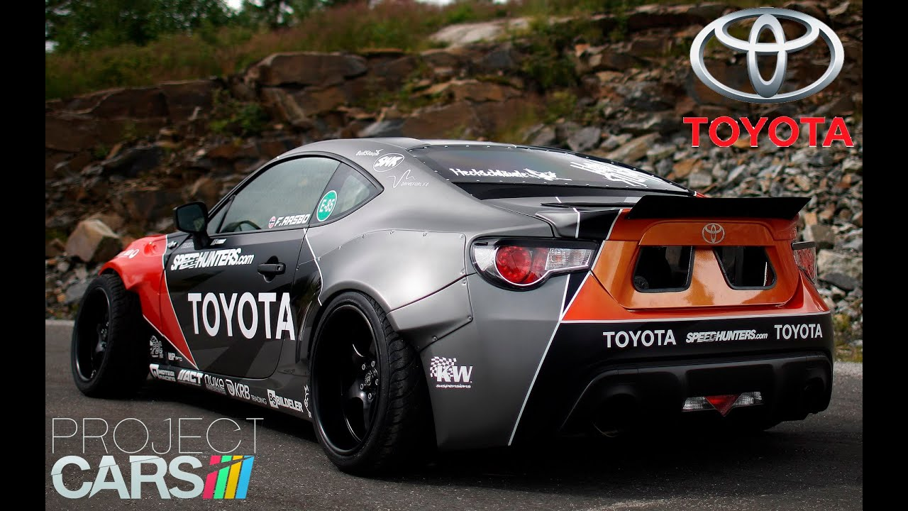 project cars toyota gt86 rocket bunny california. Black Bedroom Furniture Sets. Home Design Ideas