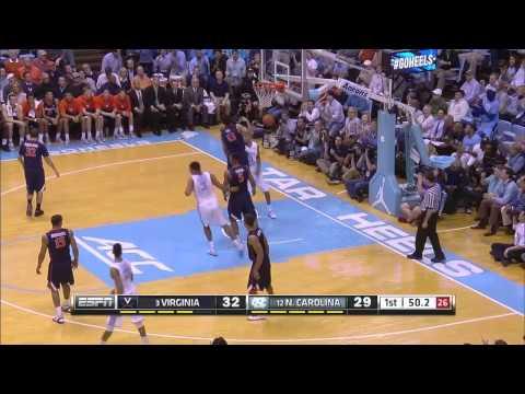UNC Men's Basketball: Highlights vs. Virginia