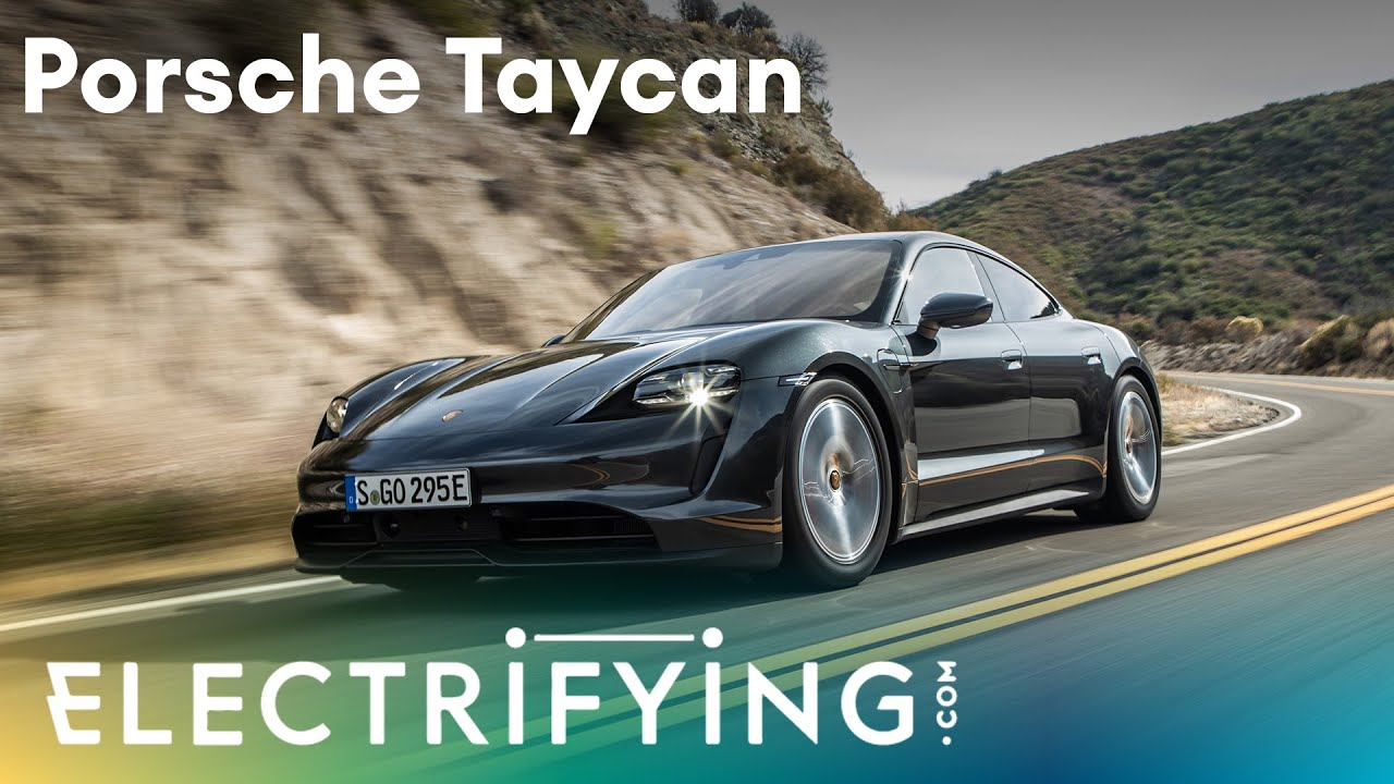 2020 Porsche Taycan. In-depth studio review with Ginny Buckley and Nicki Shields / Electrifying