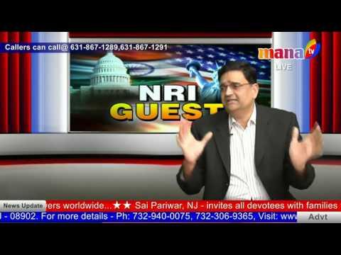NRI GUEST WITH Sridhar Chillara - Shalabh Kumar 27TH  FEB 2017
