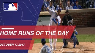 Check out all the homers around the Majors: 10/17/17
