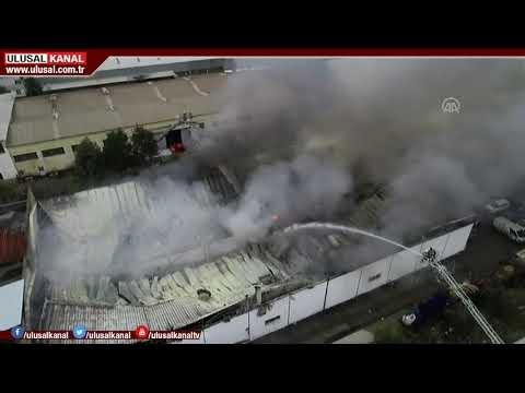 İzmir'de Büyük Yangın! Şehrin Birçok Noktasından Görüldü