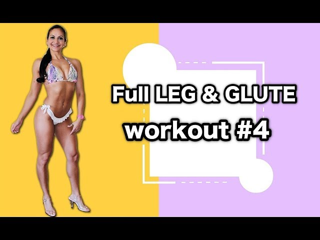FULL Leg & Glute workout #4 - Giovana Guido USA