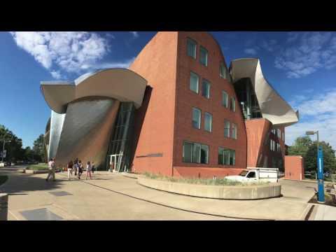Touring Case Western Reserve University