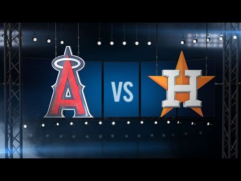 7/23/16: Gattis powers Astros to 7-2 win over Angels