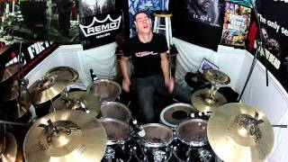 Hard Rock Drumming Performance - Drumless Track